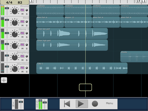 MultiTrack DAW for iPhone, IPad