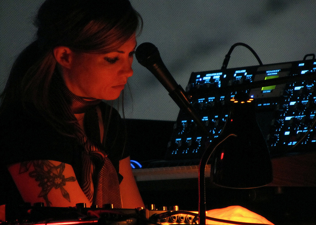 Tara Busch at Moogfest 2011