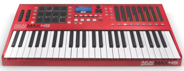 Akai Max49 Control Keyboard