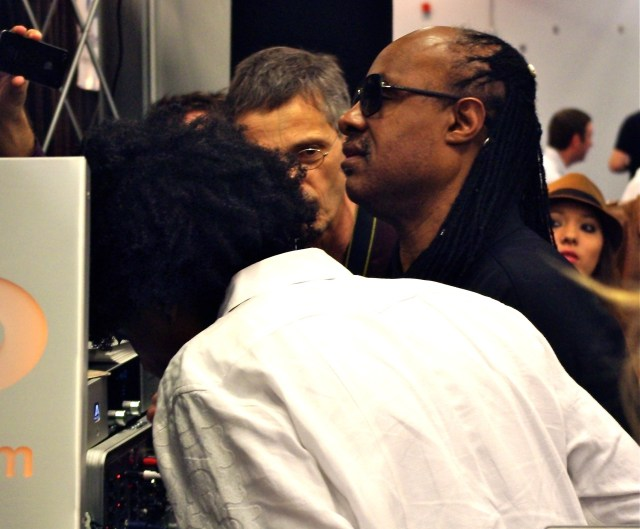 Stevie Wonder at the 2012 NAMM Show