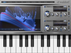 waldorf ipad synthesizer