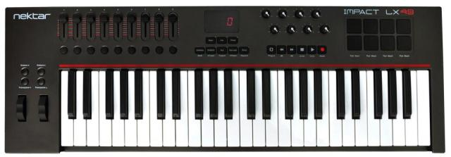 nektar-Impact-LX49-midi-controller