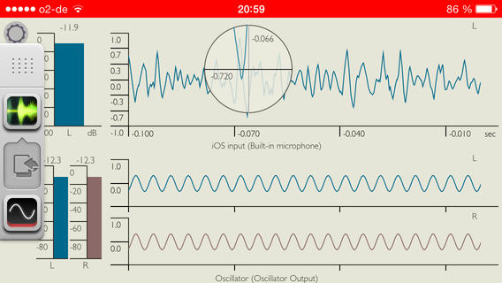 iPhone-oscilloscope