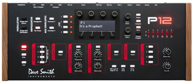 prophet-12-synthesizer-module