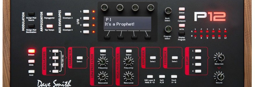 prophet-12-synthesizer-module