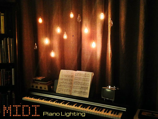 DIY-midi-lighting