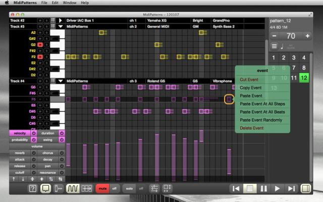 midipatterns-step-sequencer