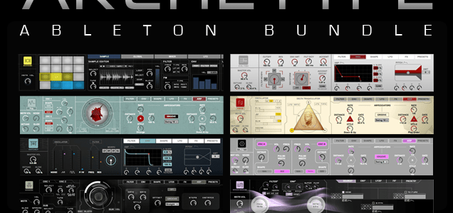 Sonic_Faction_Archetype_Ableton_Bundle_overview