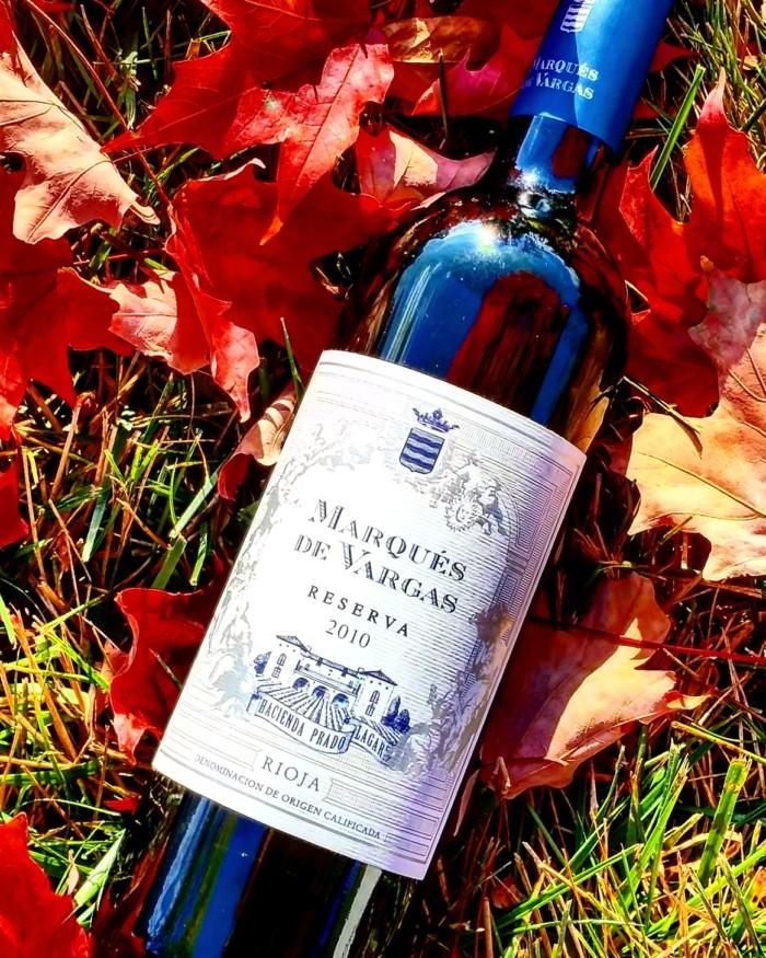 Fall for Rioja –Marqués De Vargas Reserva 2010