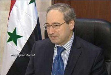 Faisal al-Miqdad Syria's deputy foreign minister