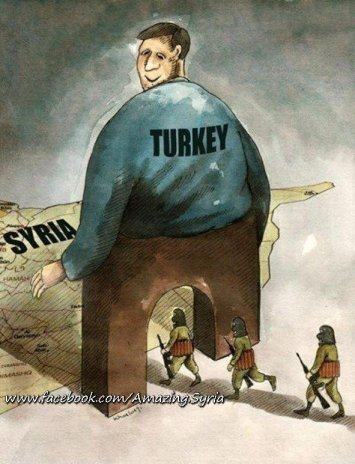 Turkish government smuggle Al Qaeda terrorists into Syria to promote democracy