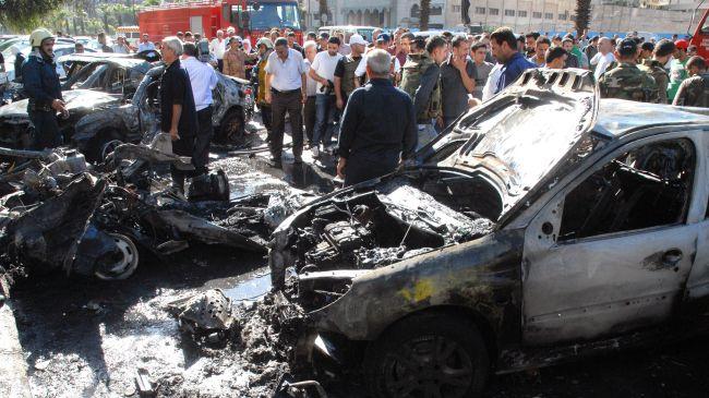 Syria: Bomb attack in al-Mleiha