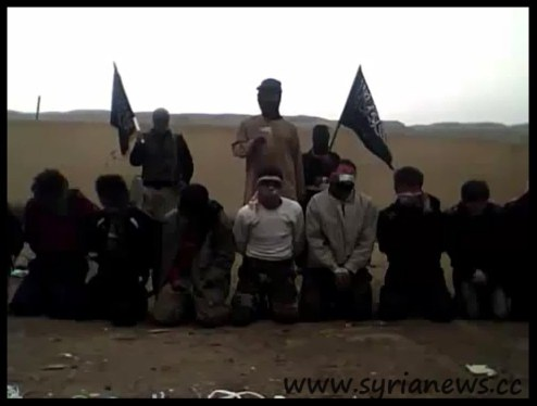 FSA Field Execution in Der Ezzor sponsored by 'western democracies'