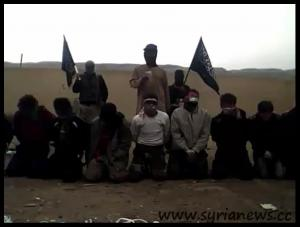 FSA Field Execution in Der Ezzor sponsored by 'western democracies'