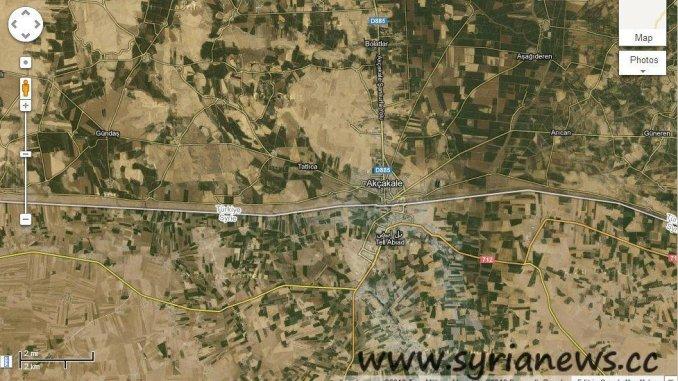 Akçakale, Turkish - Syrian borders