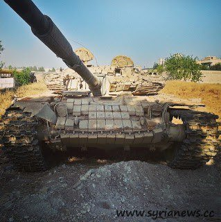 T-72 tank with a Syrian Urban Special Kit / Photo: A. Filatov