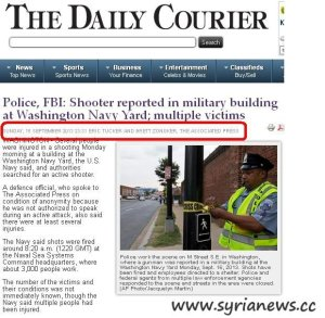 Washington Shooter @ The Daily Courier