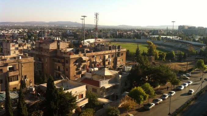 Jala'a Stadium in Damascus, Syria