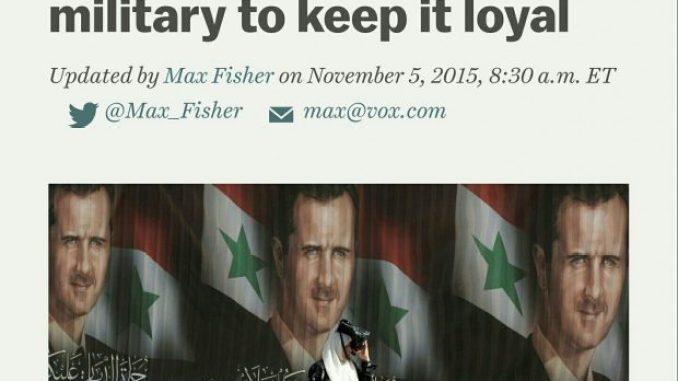 Image - Western mainstream media failed analyzes of Syria