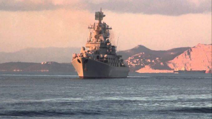 image- Russian Navy Cruiser Moskva