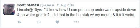kq_Lincoln bathtub tricks