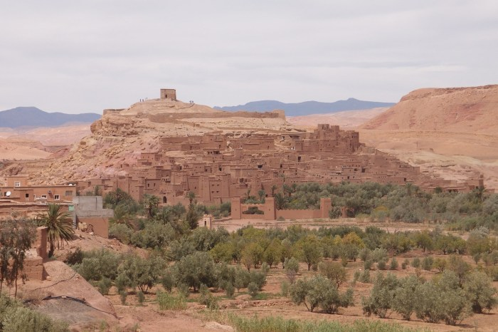 The old Kasbah of Ait Ben Haddou
