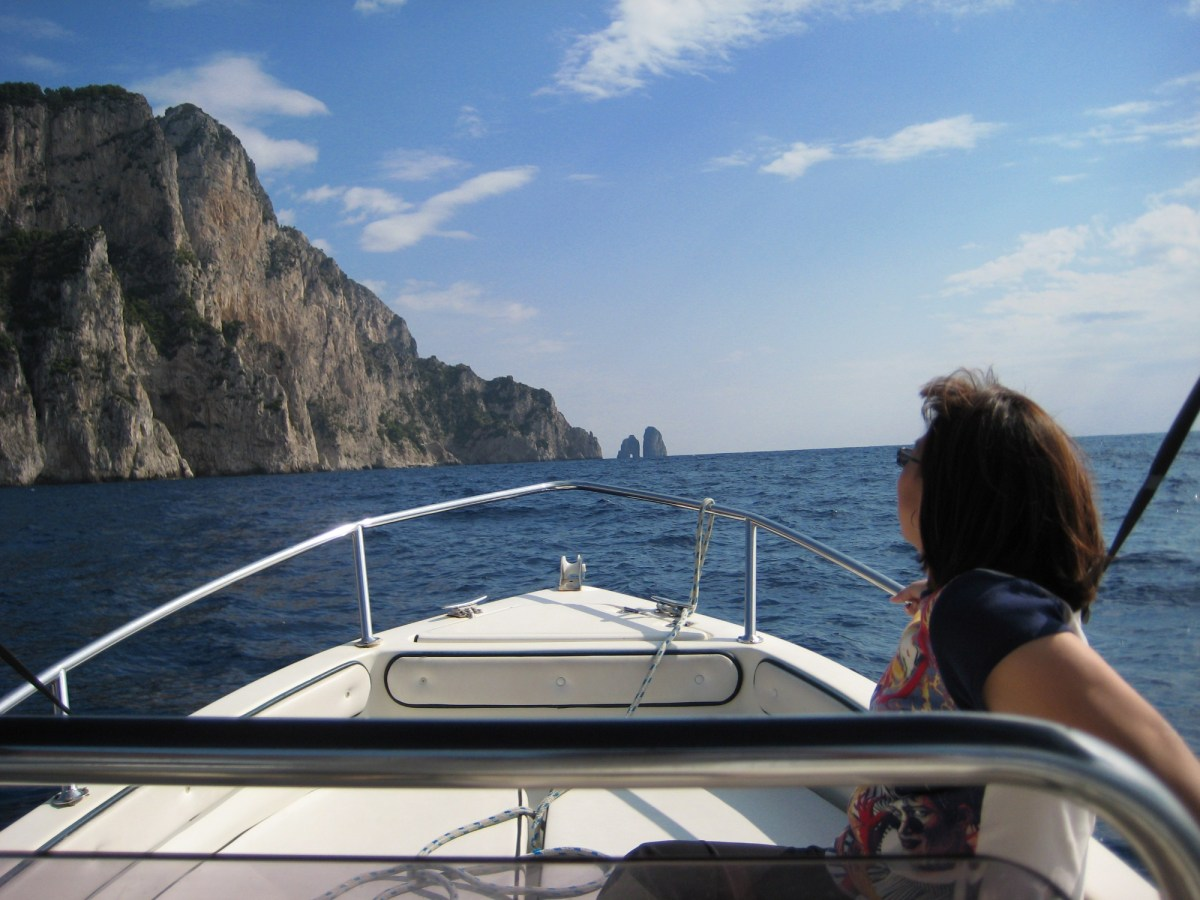 Italy - Boating in Capri