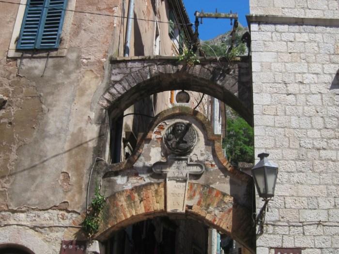 Kotor entrance