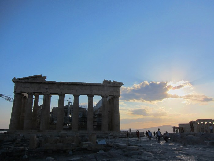 Acropolis sunset