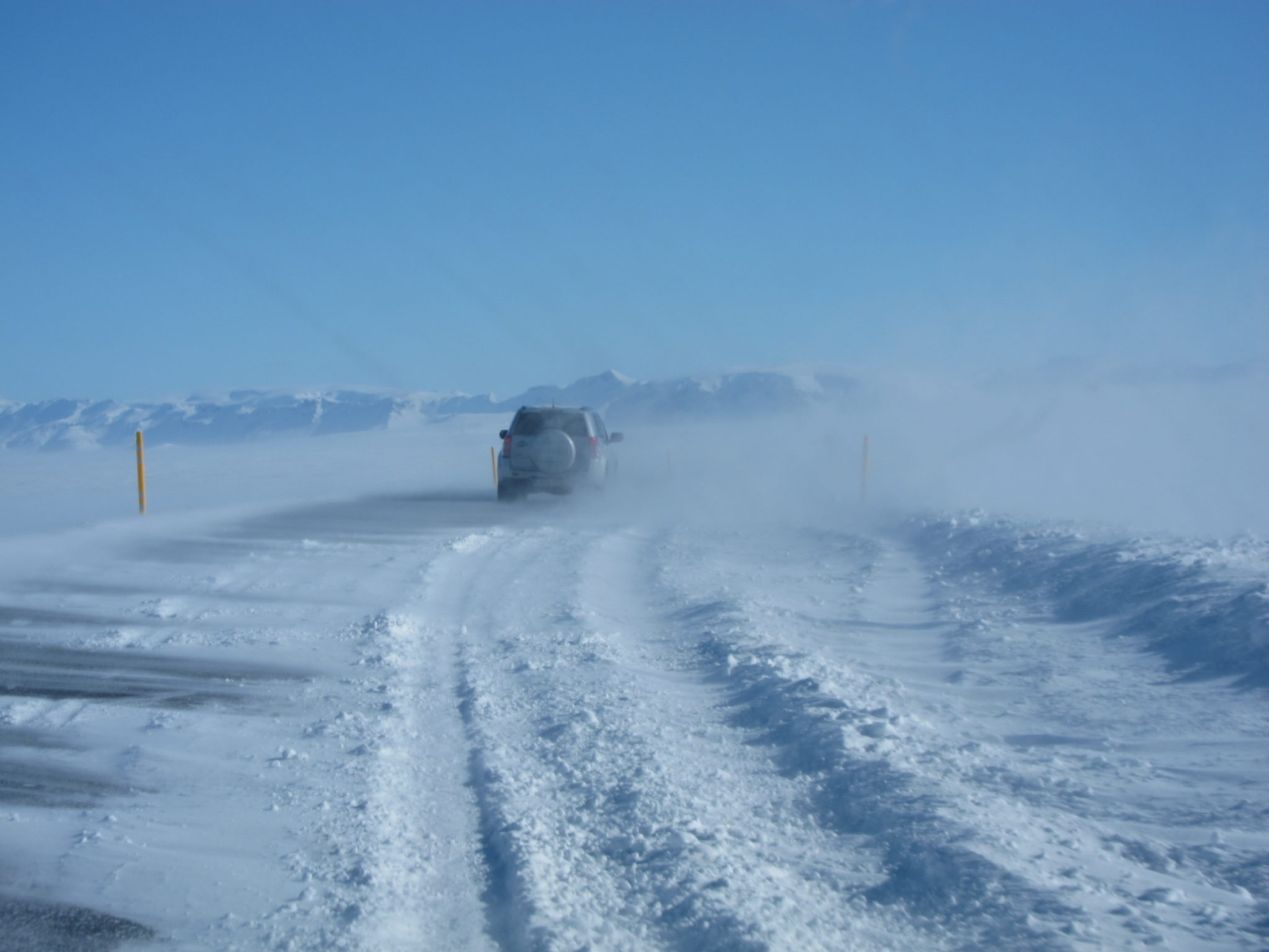 Hiring A Car In Iceland In Winter