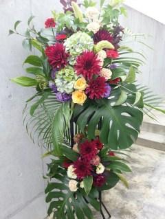 周年祝い スタンド花