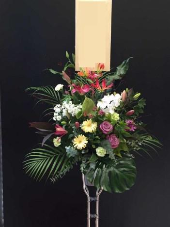 お祝いスタンド花 パチンコ店オープン