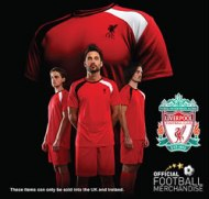 Official Liverpool t-shirts