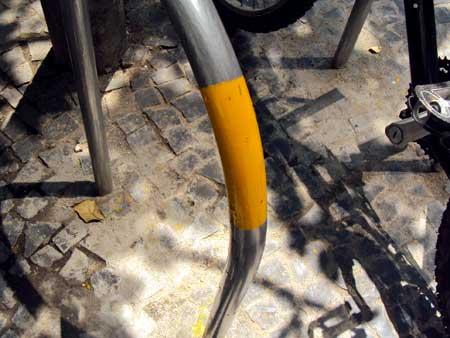 adesivo plástico para proteger a bicicleta