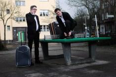 """Spider Krenzke und Volker Strübing für """"Vor der Pause, nach der Pause"""""""