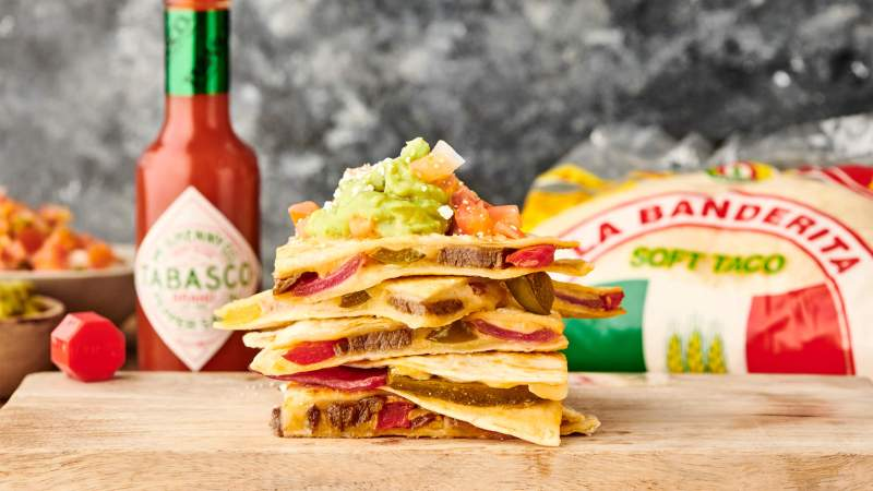 Large Of Steak Quesadilla Recipe