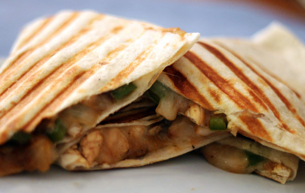 Paleo Barbecued Chicken Quesadillas