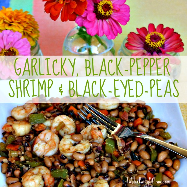 Shrimp and Black-Eyed-Peas