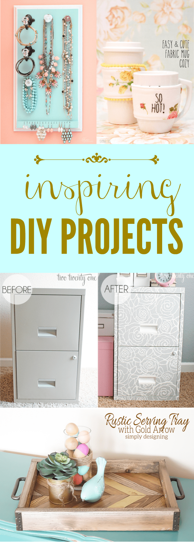 Inspiring DIY Projects to get your creative juices flowing in the new year!