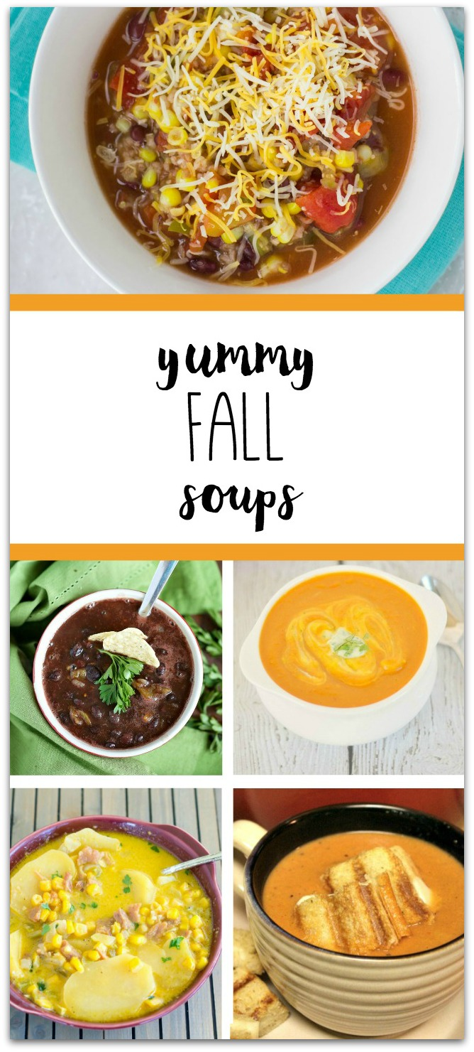 These yummy fall soup recipes are easy to make for weeknight meals. TablerPartyofTwo.com