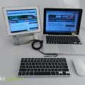 Slim One Keyboard & Ergoline Ergonomic Tablet Stand (1)