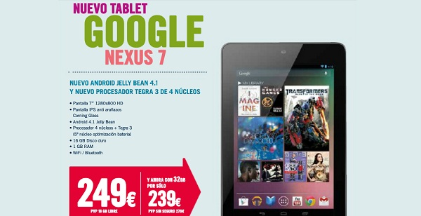 Google ASUS Nexus 7 32 GB