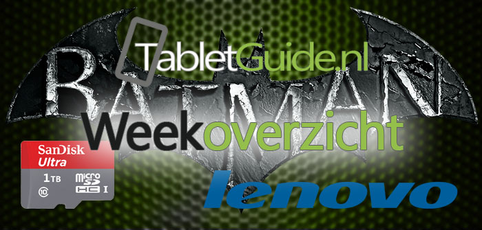 TabletGuide weekoverzicht van week 38 (2016)