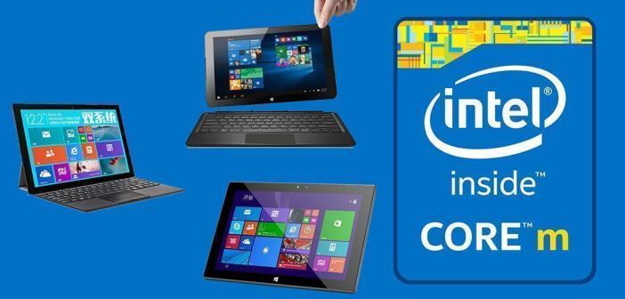 Tablettes Intel Core M