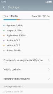 Meizu M3 OS