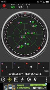 Test GPS à une fenêtre