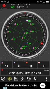 Test GPS en extérieur