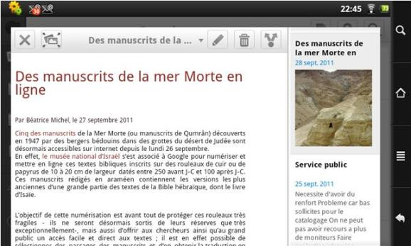 Capture de site dans Evernote