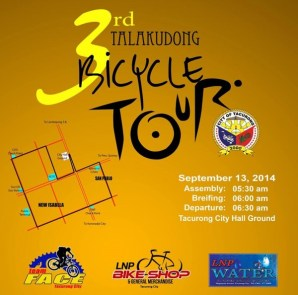 3rd Talakudong Bike tour poster