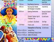 65th Tacurong Day 16th City Charter day schedule of events